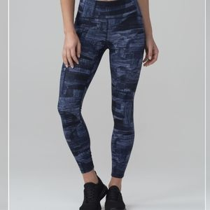 Lululemon Train Times 7/8 Pants 8 Full on Luxtreme